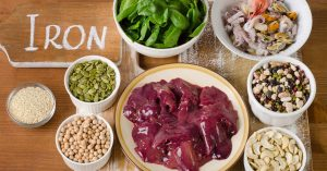 Iron rich food sources